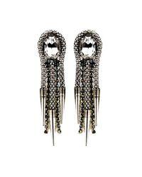 Nicole Romano | Black Lance Earrings | Lyst