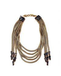 Nicole Romano - Metallic Lucca Necklace - Lyst