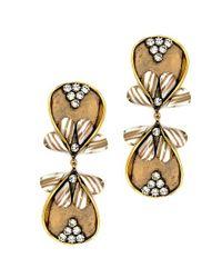 Nicole Romano | Metallic Dewei Earrings | Lyst