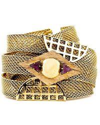 Nicole Romano | Metallic Yanlin Bracelet | Lyst