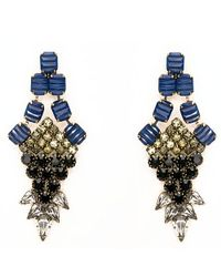 Nicole Romano - Blue Nove Earrings - Lyst