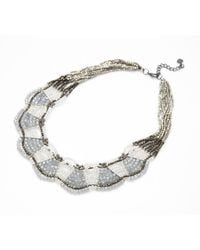 Nakamol | Gray Olympia Necklace-grey | Lyst