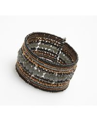 Nakamol | Multicolor Paramour Cuff-grey/copper | Lyst