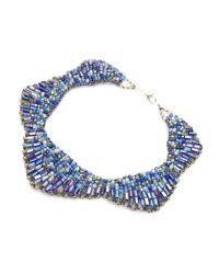 Nakamol - Blue Starla Necklace-cobalt - Lyst