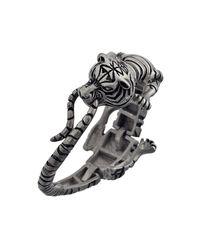 Ametallo   Metallic Siberiano Stainless Steel Bracelet for Men   Lyst