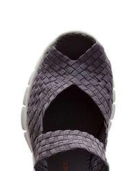 Bernie Mev | Gray Comfi Woven Sandals | Lyst
