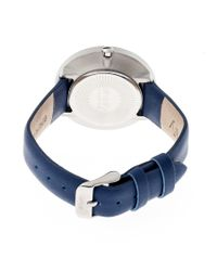 Simplify - Blue The 2600 Leather-band Watch - Lyst