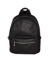 Urban Originals - Pink Lola Perforated Backpack - Lyst