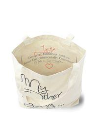My Other Bag... - Natural Jackie Emoji - Lyst