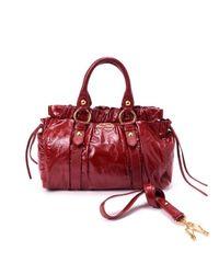 Miu Miu - Red Pre-owned: 2 Ways Bag - Lyst