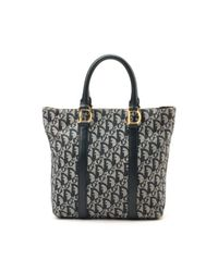 Dior - Gray Pre-owned: Tote - Lyst