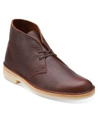 Clarks | Brown Men's Dargo Rise Boots for Men | Lyst