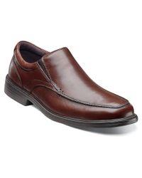 Florsheim | Brown Men's Rally Moc Slip Loafers Shoes for Men | Lyst