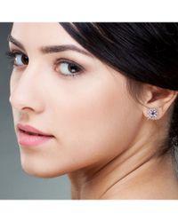 Socheec | Metallic Sapphire And Diamond Star Stud Earrings | Lyst