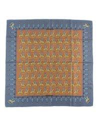 Hermès - Multicolor Vintage Scarf Les Artificiers - Lyst