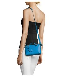 Fendi - Royal Blue Leather Mini 'by The Way' Convertible Shoulder Bag - Lyst