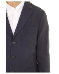 Giorgio Armani - Blue Two Button Blazer for Men - Lyst