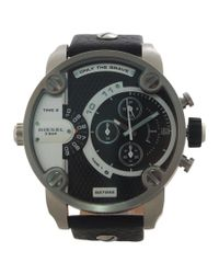 DIESEL - Black Wrist Watch for Men - Lyst
