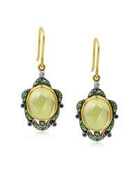 Amrapali - Green Turtle Earrings - Lyst