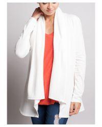 Bungalow 20 | White Cozy Cardigan | Lyst