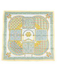 Hermès - Multicolor Vintage Scarf Ciels Byzantins - Lyst