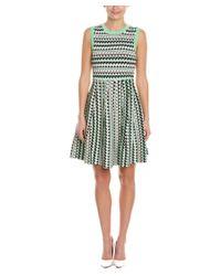 Susana Monaco - Green Elena A-line Dress - Lyst