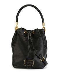 Marc By Marc Jacobs - Women's Black Leather Handbag - Lyst