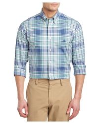 Brooks Brothers - Blue Regent Slim Fit Oxford Woven Shirt for Men - Lyst