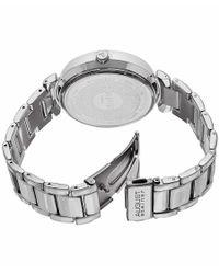 August Steiner - Metallic Men's Base Metal Silver-tone Dial Silver-tone Base Metal for Men - Lyst