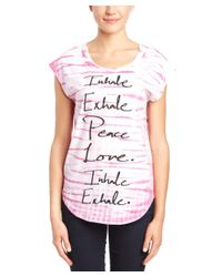 Chaser - Pink Tie-dye T-shirt - Lyst