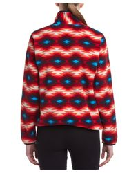 Patagonia - Red Lightweight Synch Snap-t Pullover - Lyst