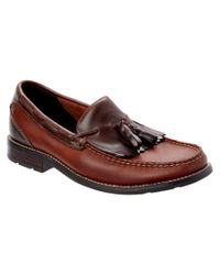 Sperry Top-Sider - Brown Essex Leather Kiltie Loafer - Lyst