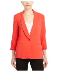 Trina Turk | Red Alexa Jacket | Lyst