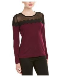 Vince Camuto - Purple Sweater - Lyst