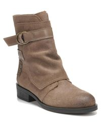 Fergie - Brown Neptune Leather Boot - Lyst