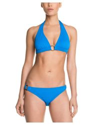 Shoshanna | Blue Turquoise Pique Ring Brief Bottom | Lyst