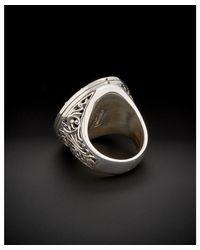 Konstantino - Metallic Color Classics 18k & Silver 0.10 Ct. Tw. Blue Topaz Ring - Lyst