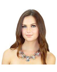 Kristin Perry - Metallic Neon Spray Necklace - Lyst