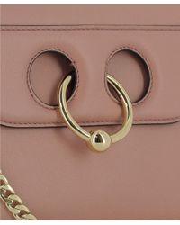 J.W. Anderson - Brown Women's Beige Leather Shoulder Bag - Lyst