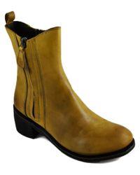 Gee Wawa - Green Joan Calf Leather Boot - Lyst