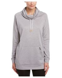 New Balance | Gray Sunrise Sweatshirt | Lyst