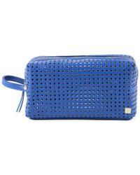 Hudson+Bleecker - Atlas Blue Mini Dopp Kit - Lyst