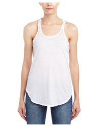 Chaser - White Open Back Tank - Lyst