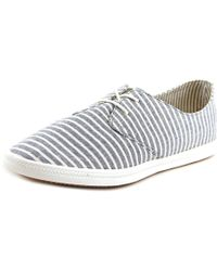 Splendid | Blue Solvang Round Toe Canvas Fashion Sneakers | Lyst