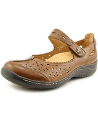 Earth | Brown Tanglewood Round Toe Leather Mary Janes | Lyst