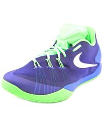 Nike | Blue Hyperchase Round Toe Synthetic Basketball Shoe for Men | Lyst