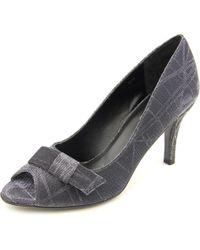 Vaneli | Black Pimba Women N/s Peep-toe Leather Heels | Lyst