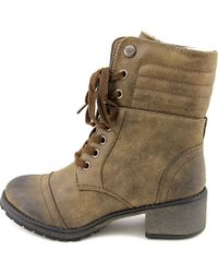 Roxy | Brown Charley Women Round Toe Synthetic Mid Calf Boot | Lyst