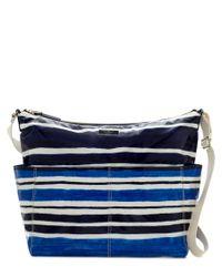 kate spade new york   Blue Daycation Coated Poplin Serena Baby Bag   Lyst