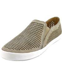 Corso Como   Longbeach Women Round Toe Leather Gray Sneakers   Lyst